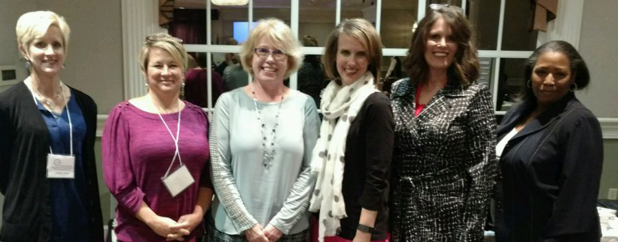 2016-2017 Nursing Officers Jennifer Lindsay, Beth Rowell, Carol Minion, Jennifer McCracken, Susan Little and Valeric Bulluck.  Not pictured, Pam McCall
